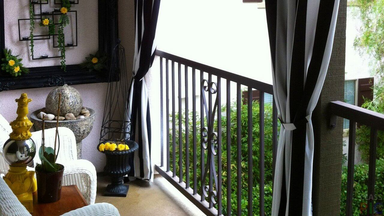 картинка кальянная на открытом балконе