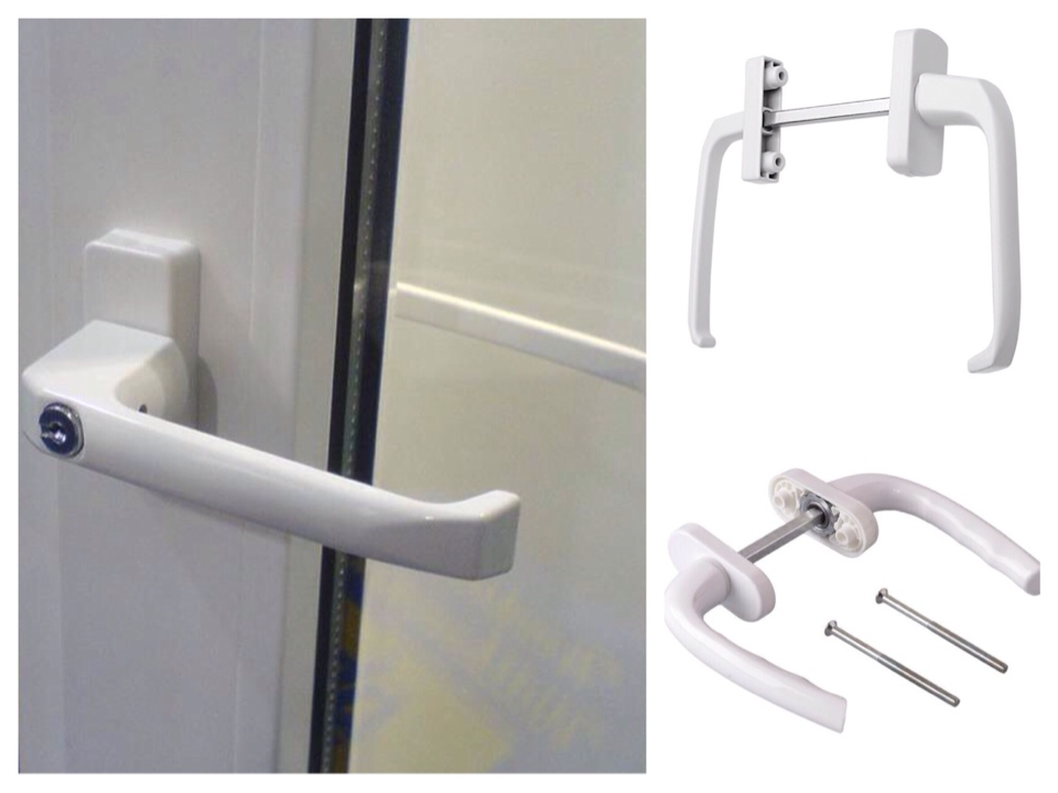 картинка дверная ручка для балконной двери пвх