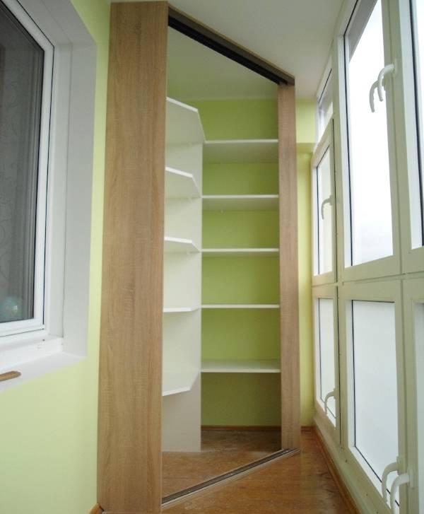 картинка шкаф на лоджию