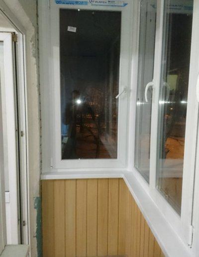 фото остекление балкона в Донецке ул Бирюзова д 23 ОкнаПроф 004
