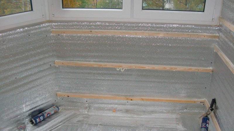 Пароизоляция на балконе