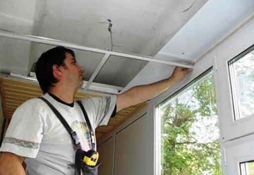 картинка ремонт крыши балкона