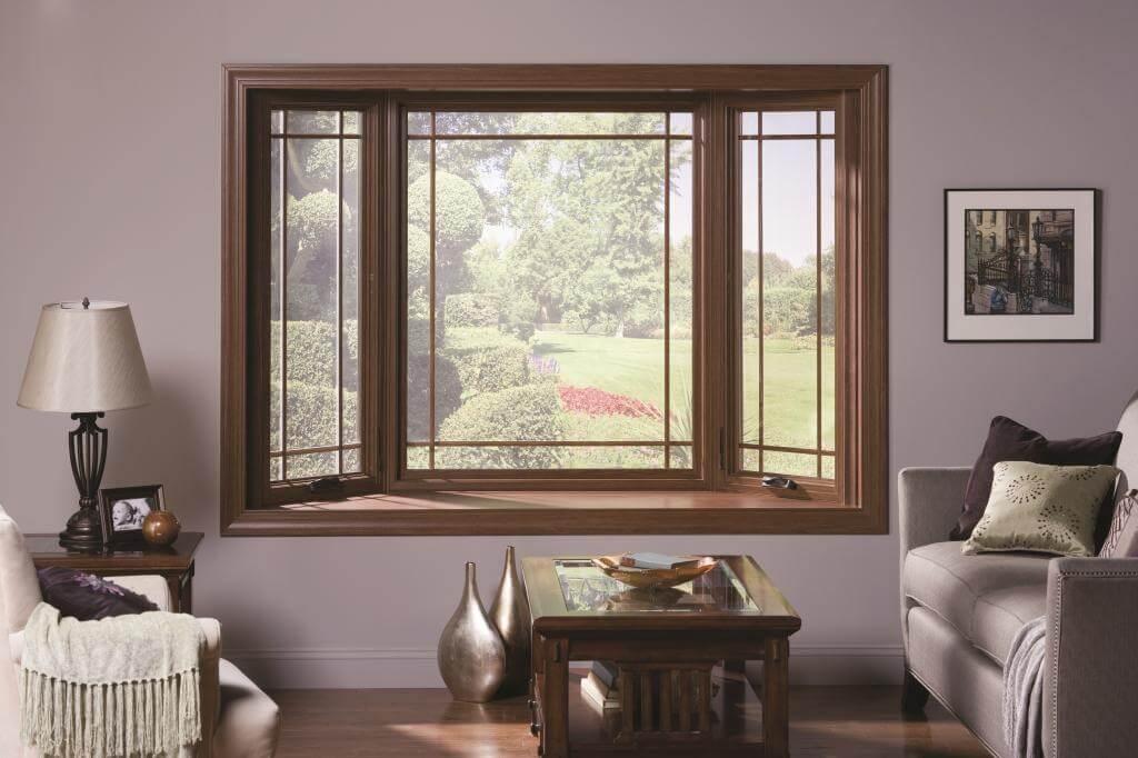 картинка окна с раскладкой в интерьере частного дома