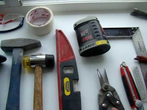 картинка инструменты для снятия окон