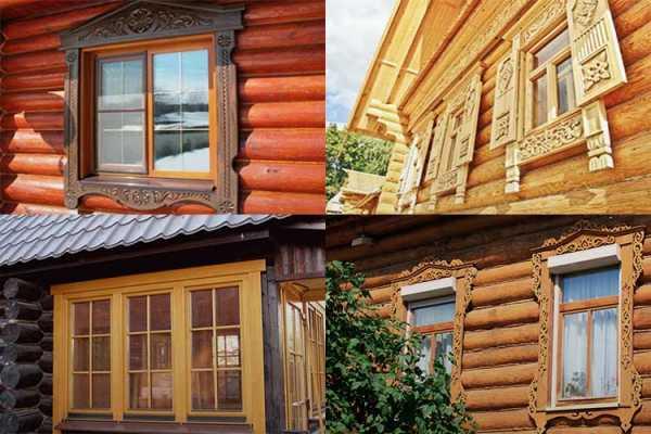 картинка наличники в деревянном доме