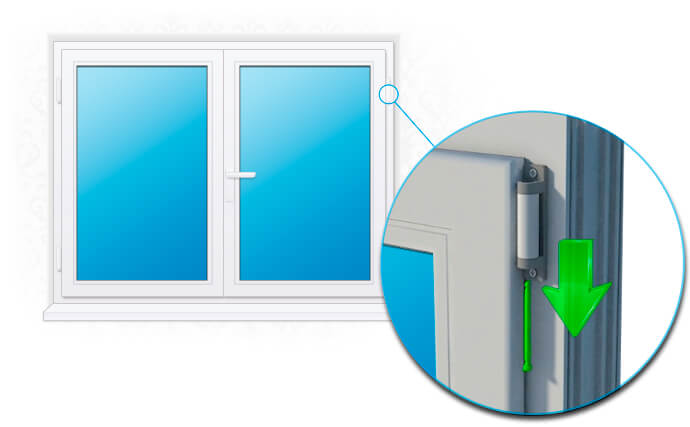 картнка как снять пластиковое окно с петель