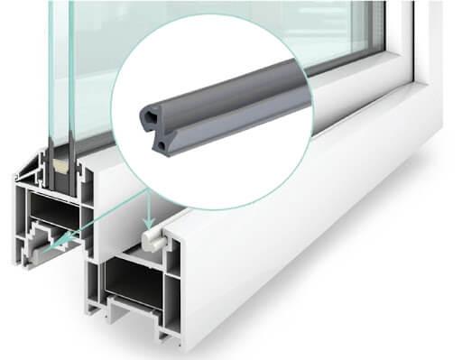картинка уплотнитель для пластиковых окон