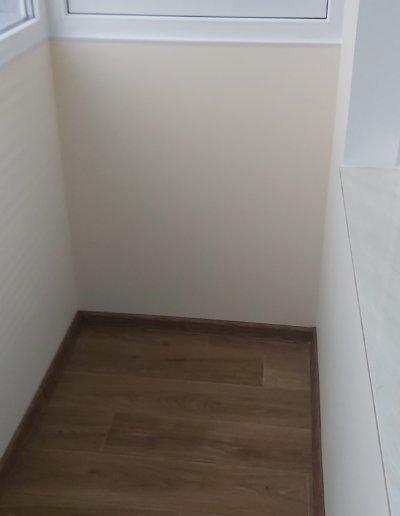 фото внутренняя отделка балкона ул Щетинина дом 25 окнапроф 002