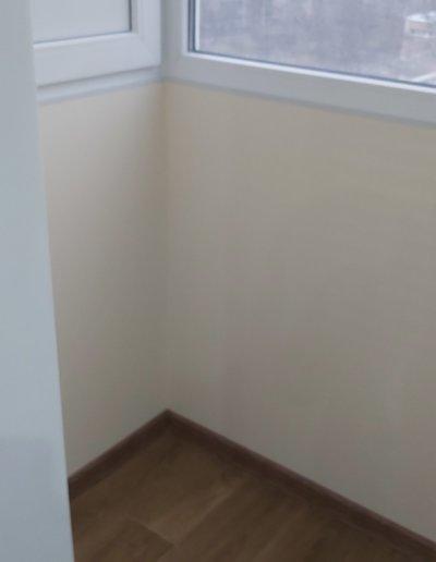 фото внутренняя отделка балкона ул Щетинина дом 25 окнапроф 009