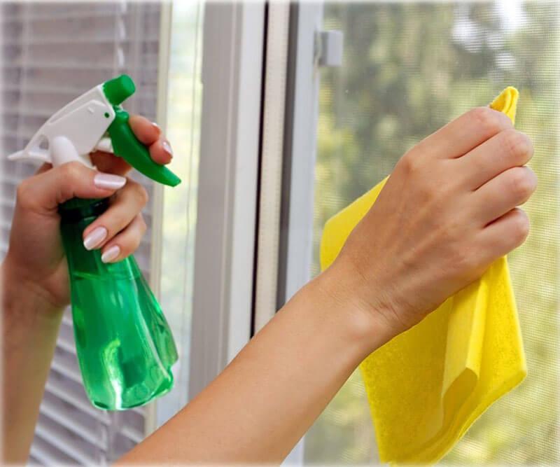 картинка правила мытья окон