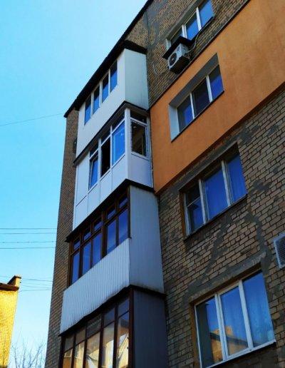 балкон Донецк пр-т Ленинский дом 7 ОкнаПроф 001