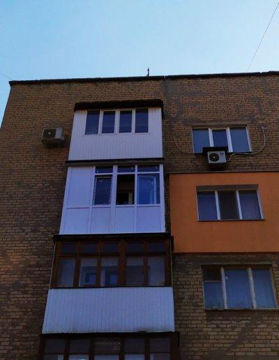 балкон Донецк пр-т Ленинский дом 7 ОкнаПроф 002