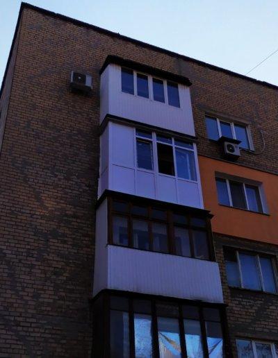 балкон Донецк пр-т Ленинский дом 7 ОкнаПроф 003