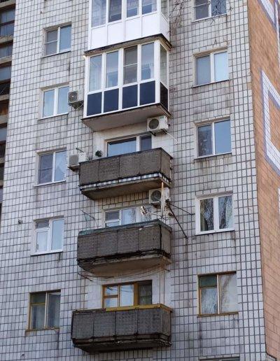 фото балконы Макеевка ул Репина д 3 ОкнаПроф 001