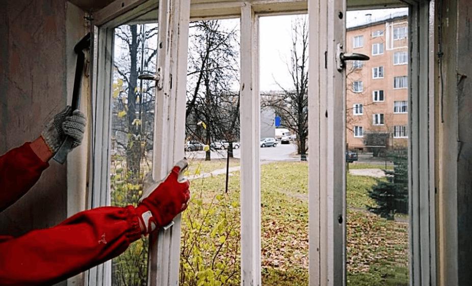 картинка демонтаж окон в частном доме
