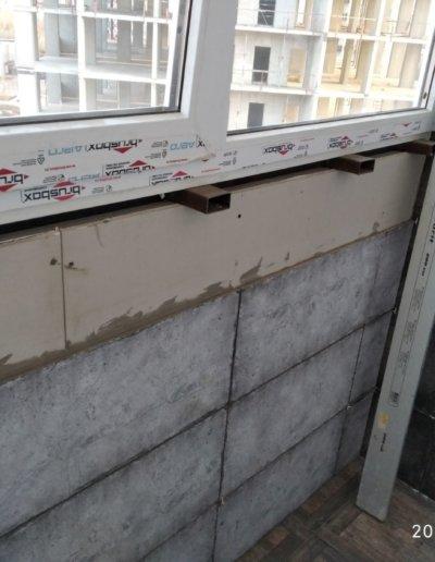 фото эркерный балкон Донецк ул Панфилова д 17 работа Окнапроф 007