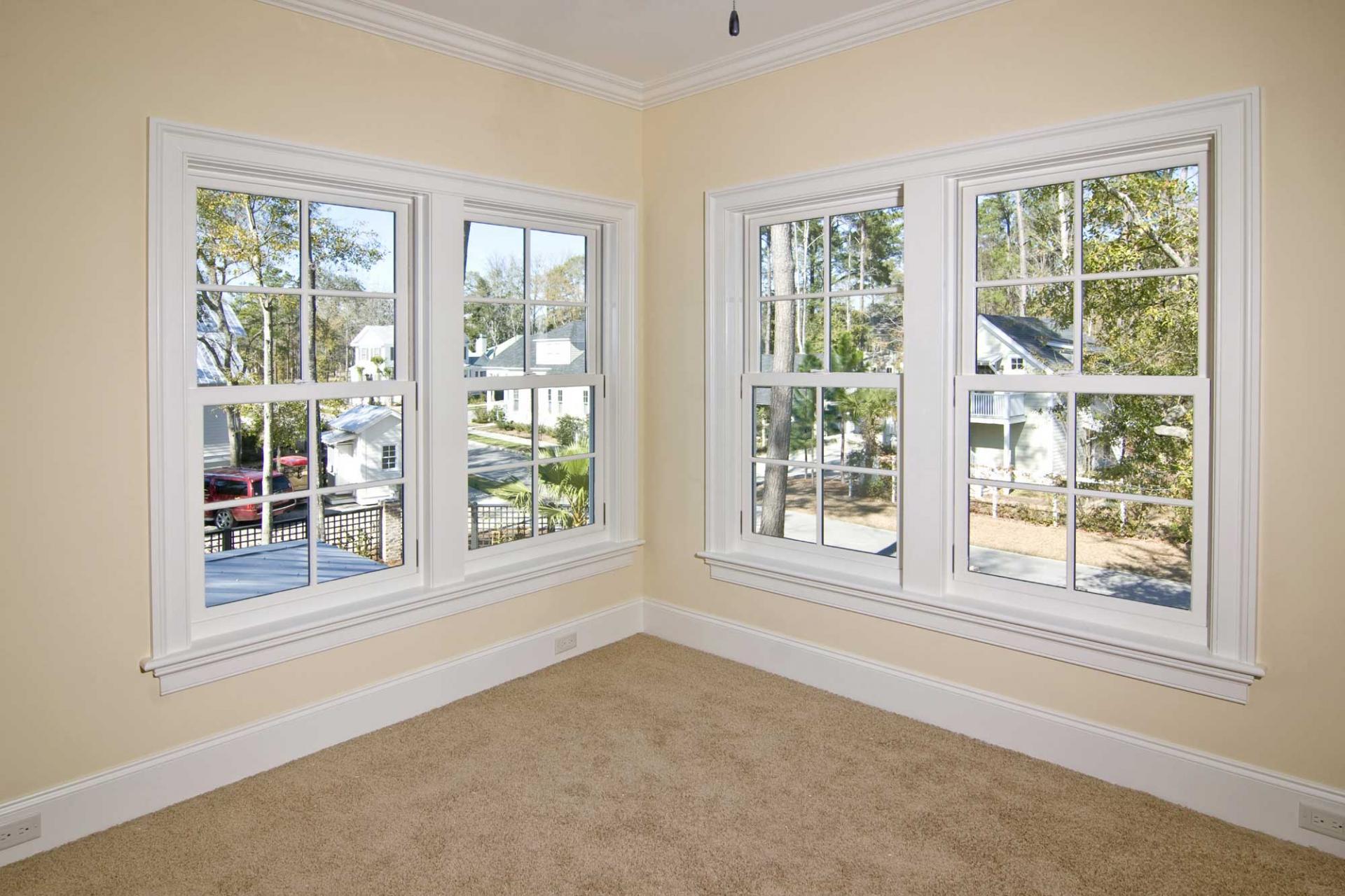 картинка фальш-окно в гостиной