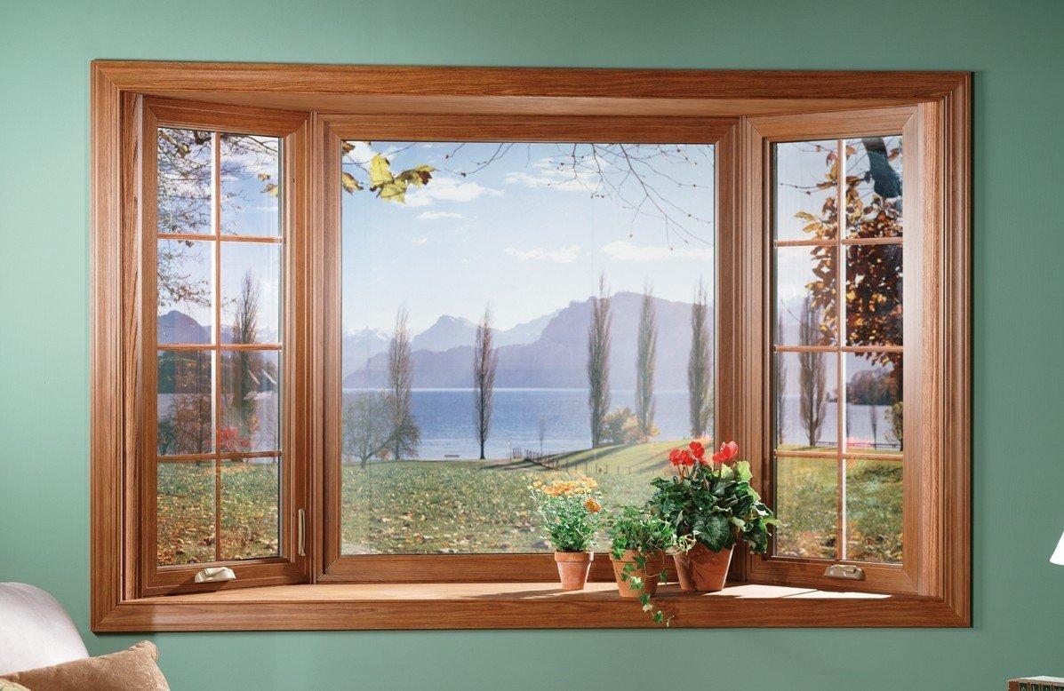картинка фальш окно художественная роспись