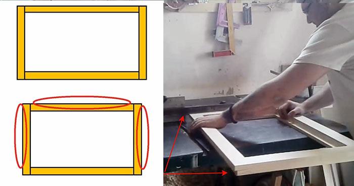 картинка деревянная рама