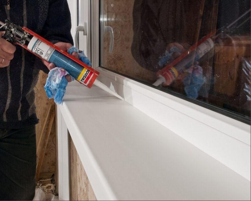 картинка герметизация окна