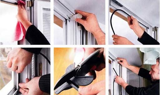 картинка замена уплотнителя на окнах