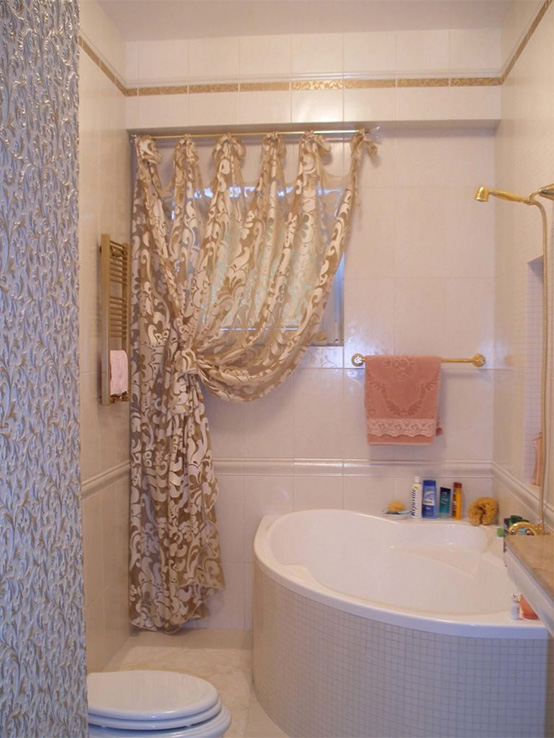 картинка тюль на окна в ванной