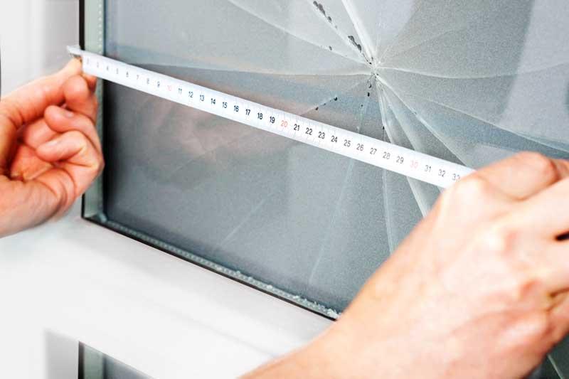 Как заменить треснувшее стекло стеклопакете