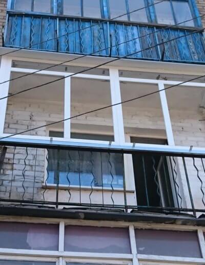 остекление балконов Донецк: ул Абакумова 91 - 001