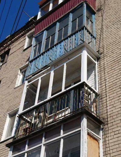 остекление балконов Донецк: ул Абакумова 91 - 002