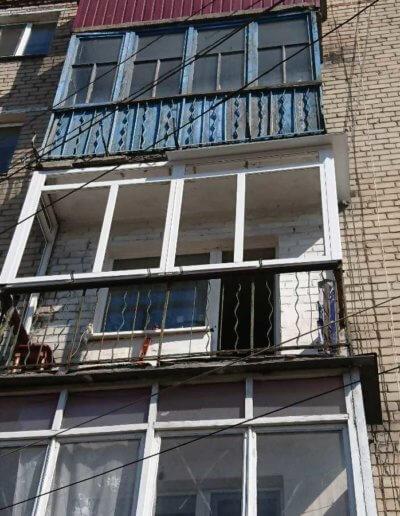 остекление балконов Донецк: ул Абакумова 91 - 003