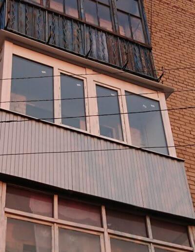 остекление балконов Донецк: ул Абакумова 91 - 004
