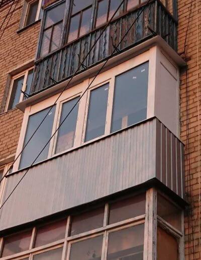 остекление балконов Донецк: ул Абакумова 91 - 005