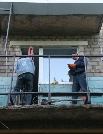 балкон под ключ Донецк, пр.Павших Коммунаров 84 001