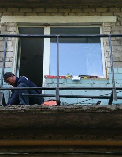 балкон под ключ Донецк, пр.Павших Коммунаров 84 002