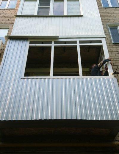 балкон под ключ Донецк, пр.Павших Коммунаров 84 003