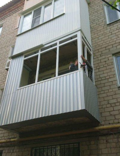 балкон под ключ Донецк, пр.Павших Коммунаров 84 005