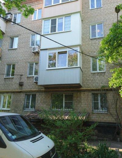 балкон под ключ Донецк, пр.Павших Коммунаров 84 015