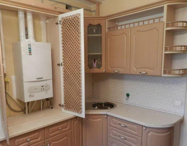 картинка котел на кухне