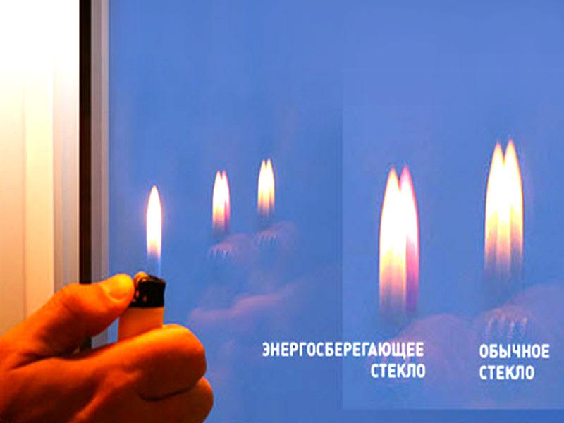 картинка проверка энергосберегающего стекла