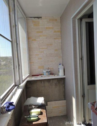 обшивка балкона Донецк ул Пухова 33 - 005