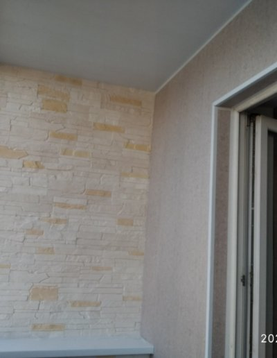 обшивка балкона Донецк ул Пухова 33 - 010