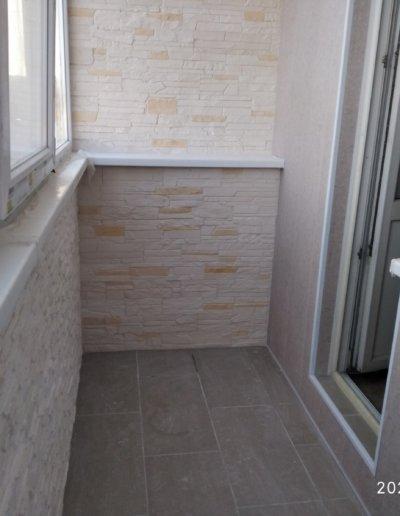 обшивка балкона Донецк ул Пухова 33 - 011