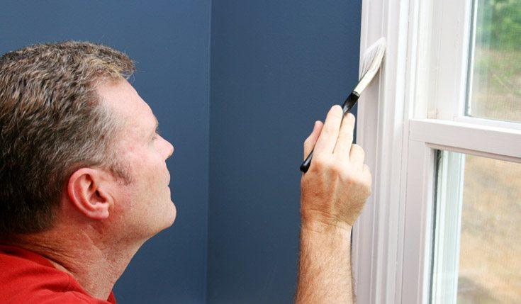 картинка покрасить окно самостоятельно