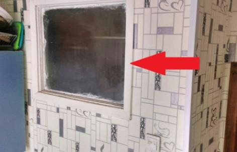 картинка Окно между ванной и кухней