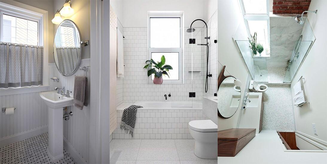 картинка окно в ванной