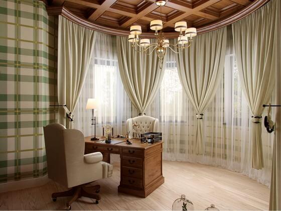 картинка шторы на окнах