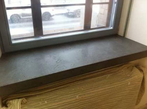 картинка подоконник из бетона