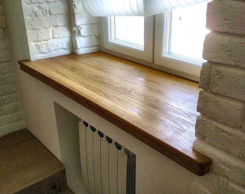 картинка деревянный подоконник