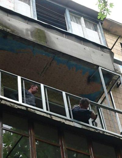 балкон под ключ в Донецке, ул Петровского д 258 -004