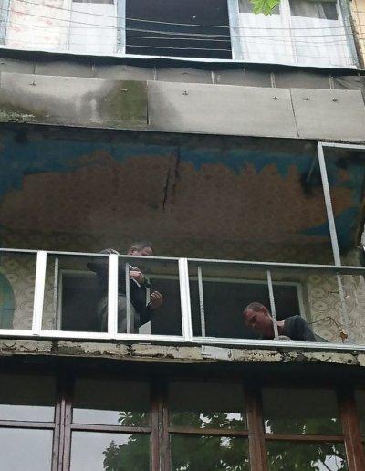 балкон под ключ в Донецке, ул Петровского д 258 -005
